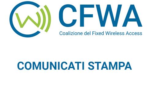 Comunicato Stampa – FUSIONE WIND-H3G: SCENDE IN CAMPO COALIZIONE WIRELESS FISSO